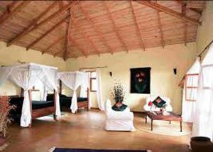 Inside Ngorngoro House - Gay Men Expeditions
