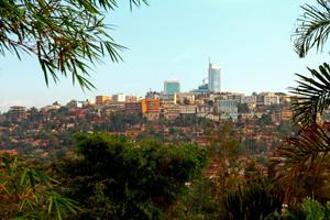 Downtown View of Kigali, Rwanda - Africa Gay Men Tours